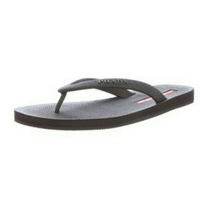Prada Shoes - New in box PRADA Women's Saffiano flip flops 7